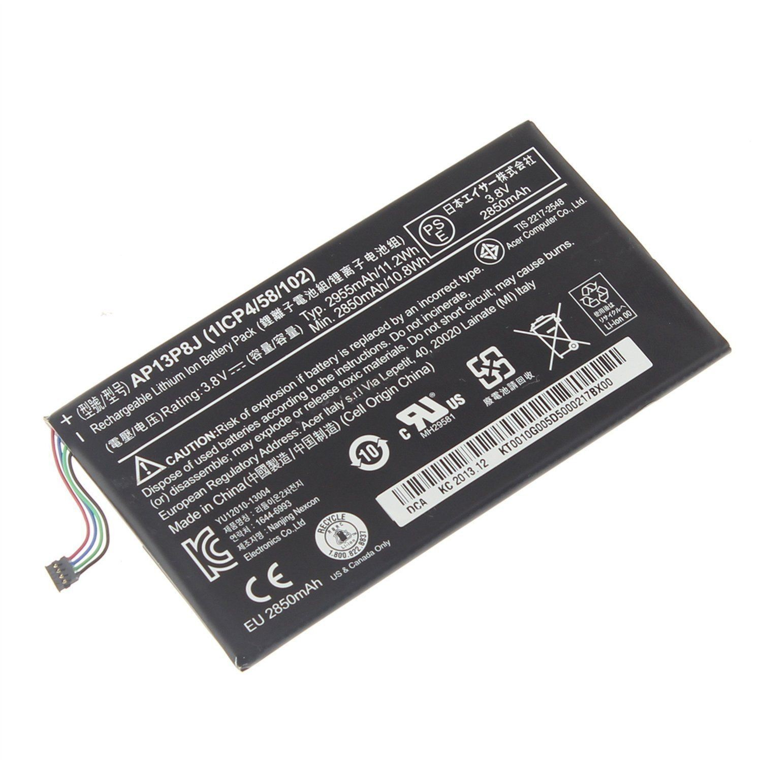 Replacement Acer Iconia Tab B1-720 Tablet KT.0010G.005