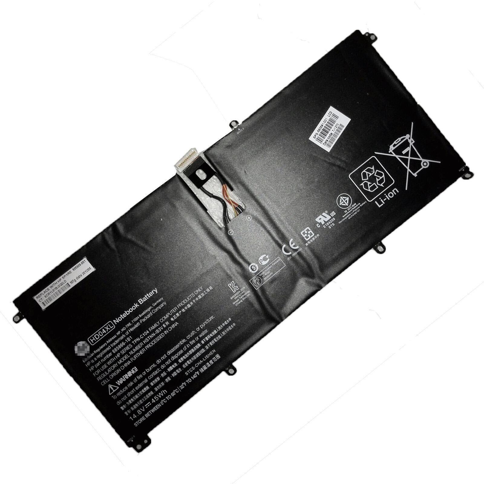 14.8V 2950mAh 45Wh Genuine Hp Envy Spectre XT Pro 13-b000